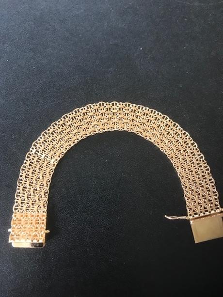 Armband X-länk 18k guld e93ba45973eed